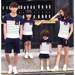 FM2 Sailor Anchor - Kaos / Family / 2 Anak / Couple / Fashion / Pasangan / Supplier / Grosir / Murah / Unik