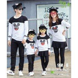 FM2 Swt DBM Mickey - Baju Keluarga / Family Couple / Grosir / Supplier