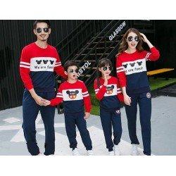 FM2 Sweater Mickey Head - Baju Keluarga / Family Couple / Grosir Couple