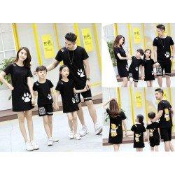 FM 2 Bear Hand - Baju Family / Family Couple / Baju Keluarga