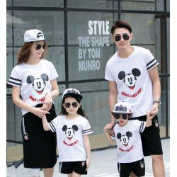 FM 2 Mickey Nice Day - Baju Family / Family Couple / Baju Keluarga