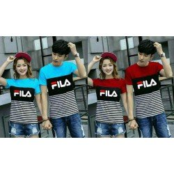 Fila Kombinasi - Kaos / Fashion / Couple / Grosir / Supplier / Baju Pasangan
