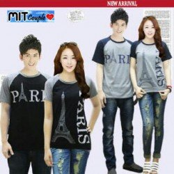 Kimono Paris - Baju Couple / Kaos Pasangan / Supplier Couple / Grosir / Couple Korea