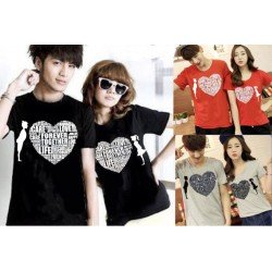 Love Care - Kaos Couple / Baju Pasangan / Couple Grosir