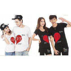 Love Forever - Kaos Couple / Baju Pasangan / Couple Grosir