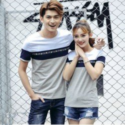 Rainbow Flower - Kaos / Fashion / Couple / Grosir / Supplier / Baju Pasangan