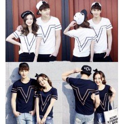 Victor - Kaos Couple / Baju Pasangan / Grosir / Supplier / Couple