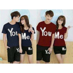 You Me - Kaos Couple / Baju Pasangan / Supplier / Grosir / Fashion / Couple
