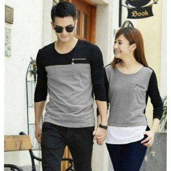 LP Zipper - Baju Prewed / Fashion / Kaos / Couple / Grosir Murah