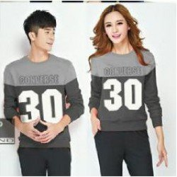 Sweater Converse Abu - Sweater Couple / Baju Couple / Grosir / Supplier / Couple