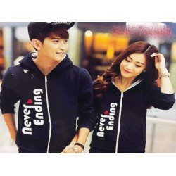Jaket Never Ending - Mantel / Busana / Fashion / Couple / Pasangan / Babyterry / Kasual