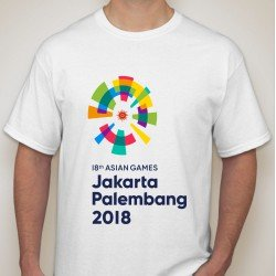 Asian Games 2018 New Logo - Kaos Pria / Kaos Wanita / Kaos Unisex/ Limited Edition