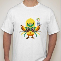 Maskot Asian Games 2018 Bhinbhin - Kaos Pria / Kaos Wanita / Kaos Unisex/ Limited Edition